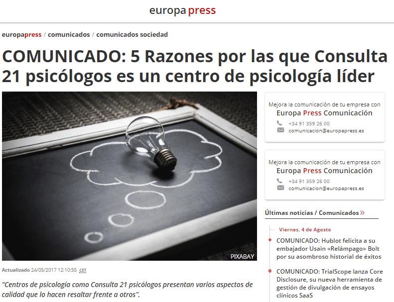 Psicólogos Pamplona líderes